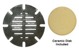 Metal Grate - (Large) w/ceramic disk