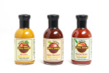 GRILL DOME BBQ SAUCE - 3 SAUCES