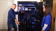 Ryan Gresham Uses Gun Storage Solutions to Organize and Protect His Gun Safe Collection