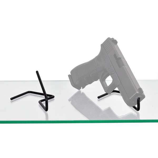 2 kikstand handgun displays stands