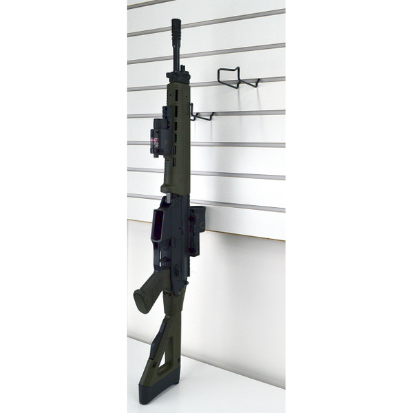 Gun hooks for slatwall display