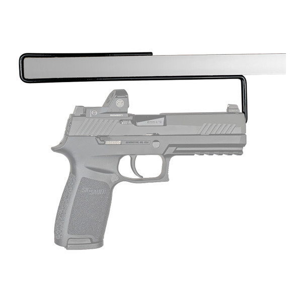 One carry optics handgun hanger in use