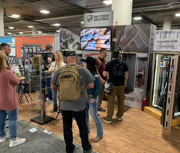 Gun Storage Solutions SHOT Show Booth