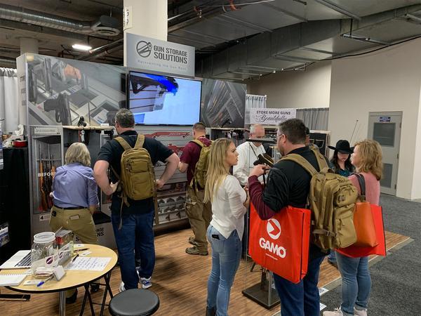Shot Show 2019 Gun Storage Solutions booth
