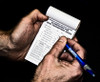 The APC 94798 Pre-shift On-shift Daily Report Examination For Dust Parameters Pocket Notebook fits in the palm of your hand.