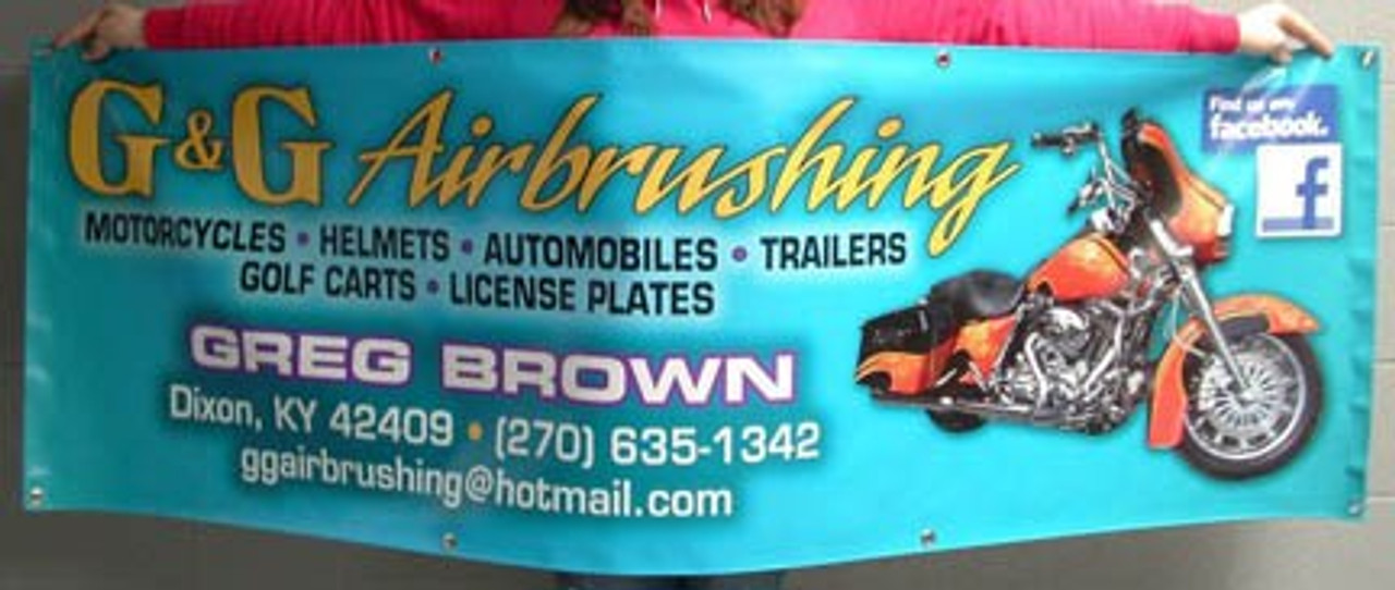 Full-color Indoor/Outdoor Vinyl Banners – Custom Size