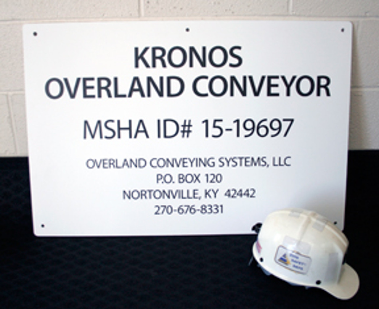2' x 3' Heavy-Duty PVC Job Site Signs