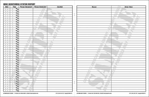 APC 6-1496: Mine Monitoring System Report