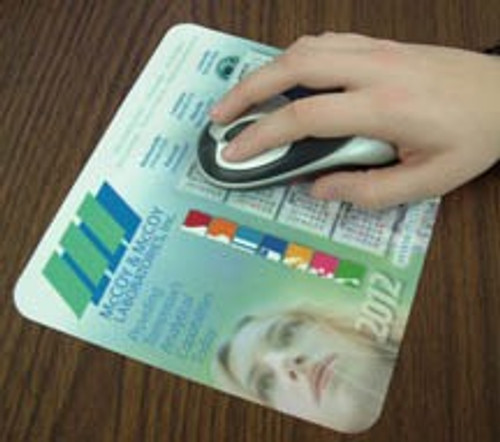 Ultra Thin Repositionable Calendar Mouse Pads