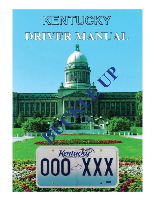 Kentucky Driver's Manual 2020