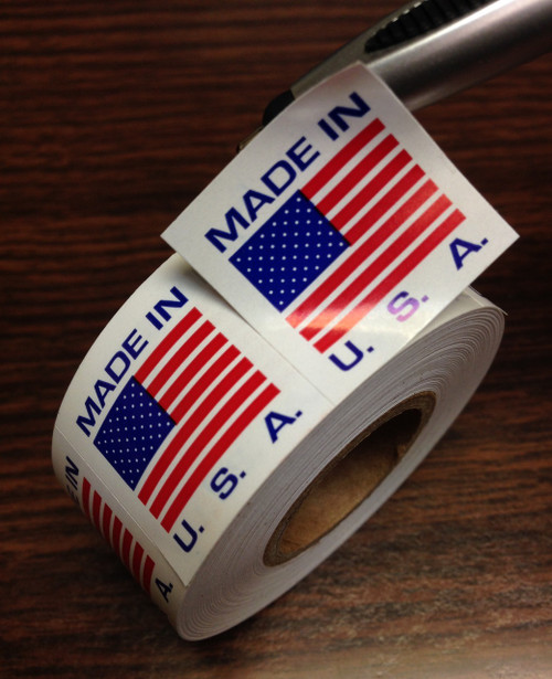 Made In USA Label