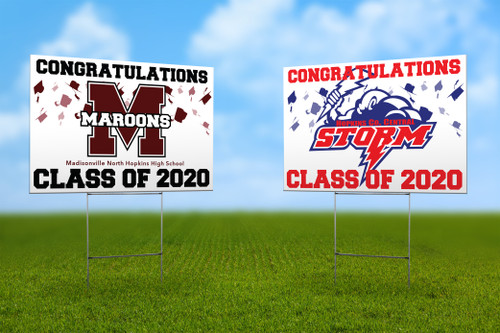 2020 Graduate Yard Signs from APC!