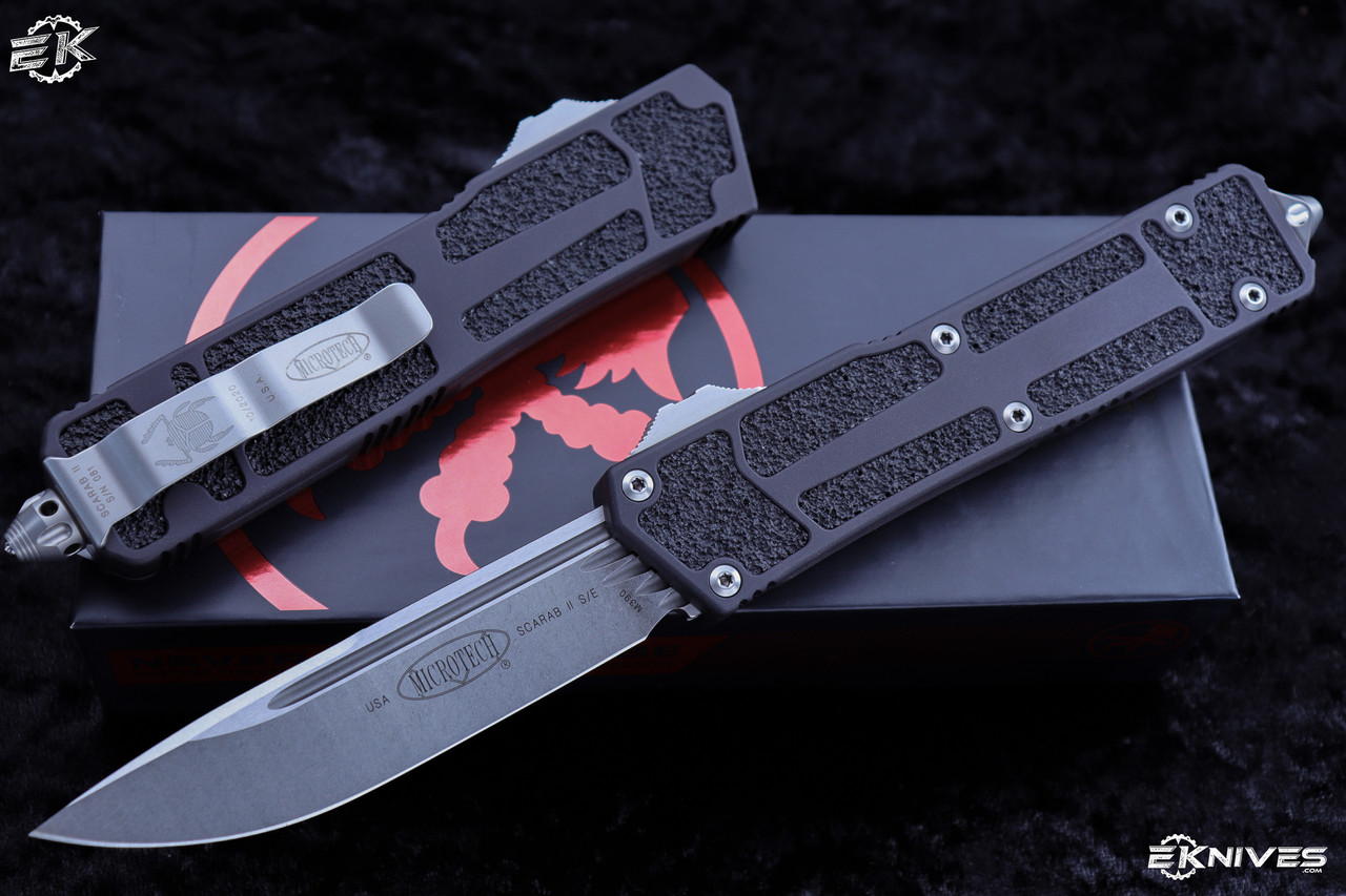 Microtech Scarab II Knives