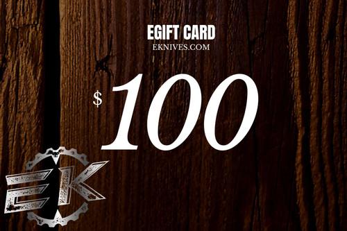 EK Virtual Gift Card 100