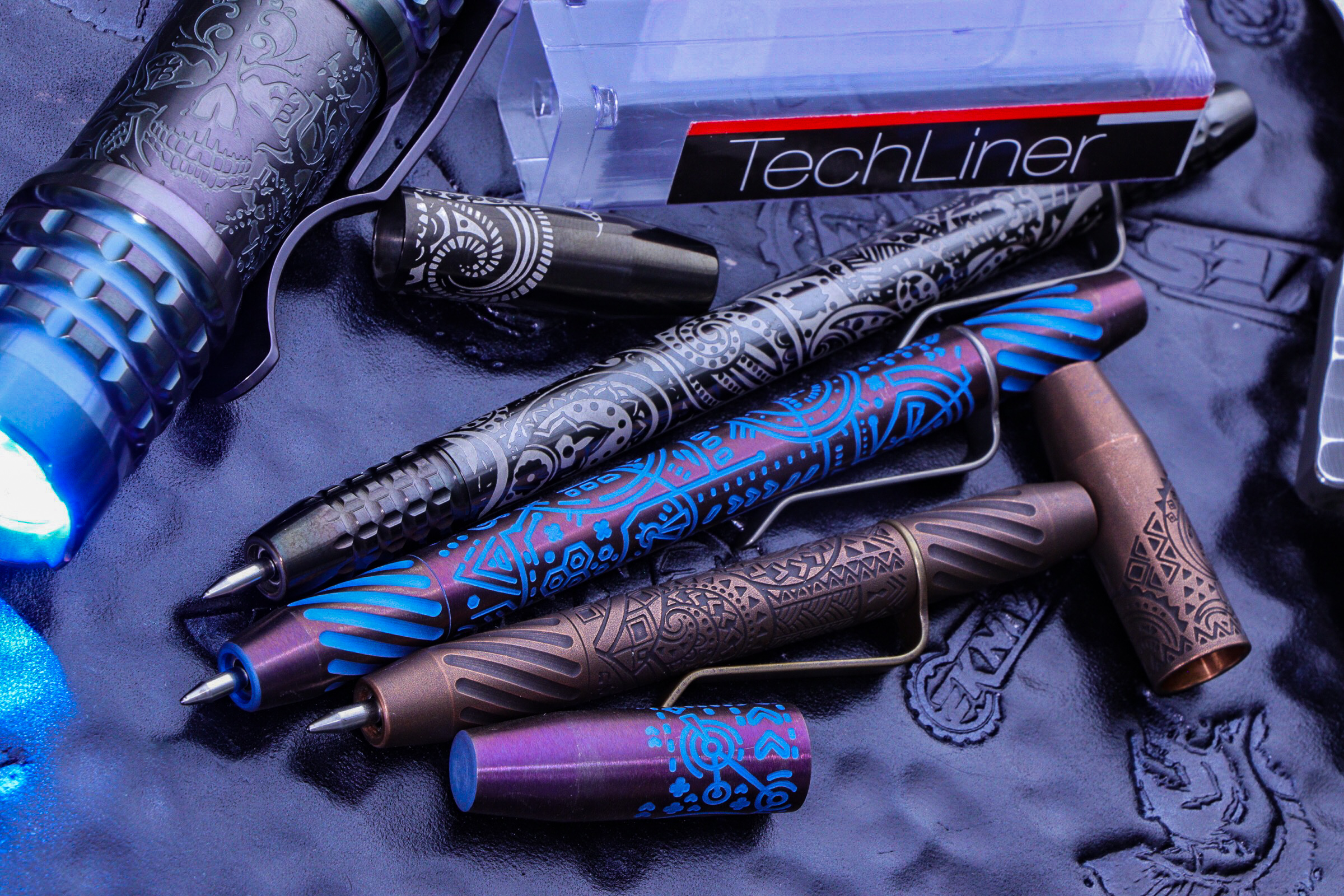 Ti2 Design Custom Techliner Pens″ CCW-Enabled Backpack 21L