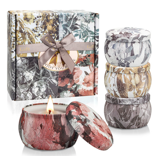 Scented Candles Gift Set