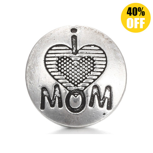 18MM Mom Snap Button Charms  LSSN193