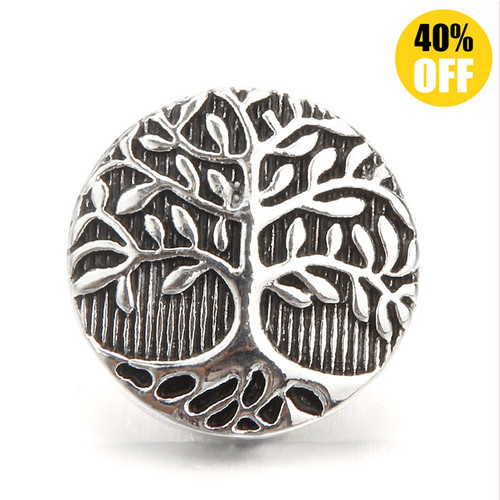 18MM A Big Tree Snap Jewelry Charms LSSN666