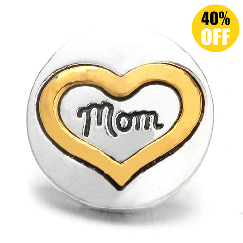 18MM Mom Snap Jewelry Charms LSSN939