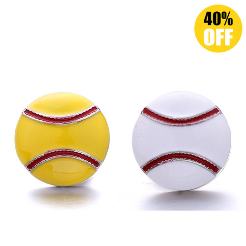18MM Sports Toy Snap Jewelry Charms  LSSN882