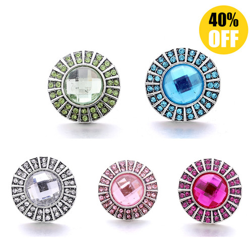 18MM Wholesale Beautiful Snap Button Charms LSSN993