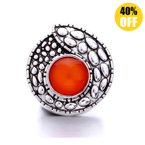 18MM Fashion Red Snap Jewelry Charms LSSN1073
