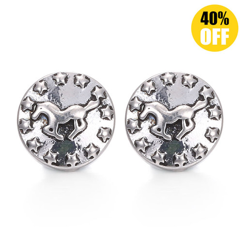 Horse Snap Charms Jewelry LSSN12MM07
