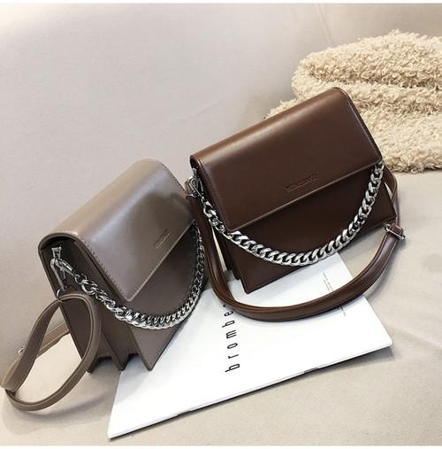 New Korean style small square bag chain diagonal bag women fashion single shoulder small bag