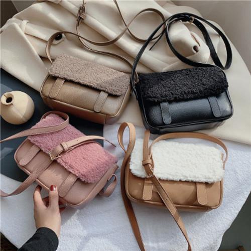 Women's Armpit Bag New High-quality PU Leather Handbag Saddle bag Shoulder Messenger Bags