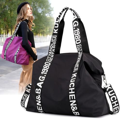 Nylon Women's Shoulder Handbag Canvas Bag Lightweight Mommy Bag