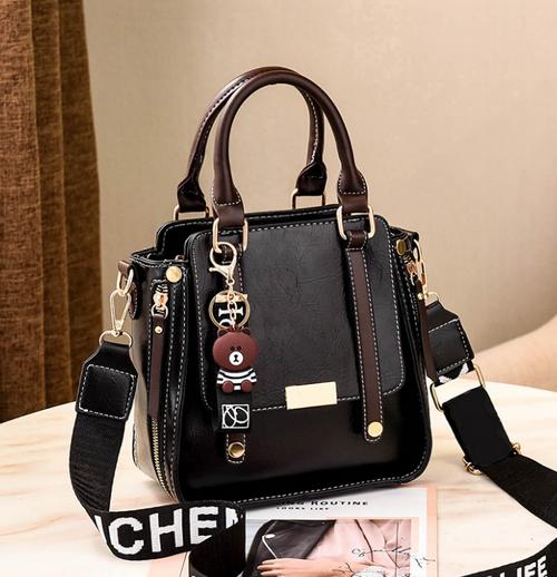 New Style Handbag Autumn Single Shoulder Messenger Solid Color Trendy Fashion Ladies Bag
