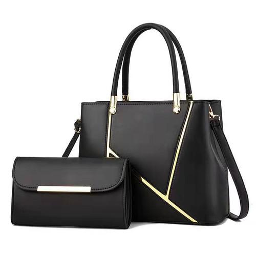 Picture-in-the-mother Bag Stitching Handbag Shoulder Diagonal Simple And Elegant Fashion Female Bag