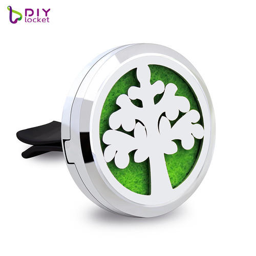 Alloy 30mm Car Oil Diffuser Locket Wholesale Fashion Car Aromatherapy Diffuser Locket Jewelry AP107