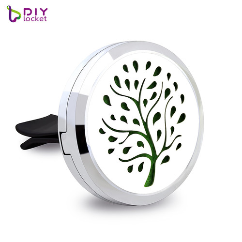 Alloy Tree Car Oil Diffuser Locket Wholesale Fashion Car Aromatherapy Diffuser Locket Jewelry AP151