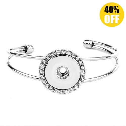 Adjustable Diy Snap Bracelet For Women LSNB64