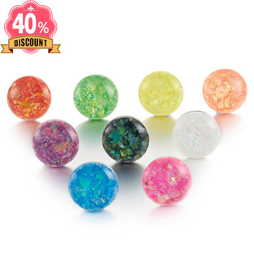 Mix Color Round Snap Charms Jewelry For Womenfit Snap Button Ring LSSN641
