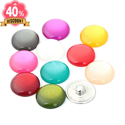 Colorful Wholesale Snap Button Jewelry Fit Snap Button Bag For Women LSSN661