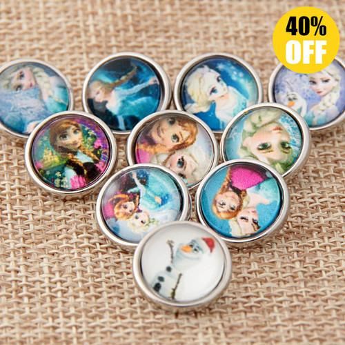 Fashion Frozen Wholesale Snap Jewelry Supplies For Women LSSN12MM66