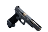 Taran Tactical Glock 17L Combat Master with traditional stippling