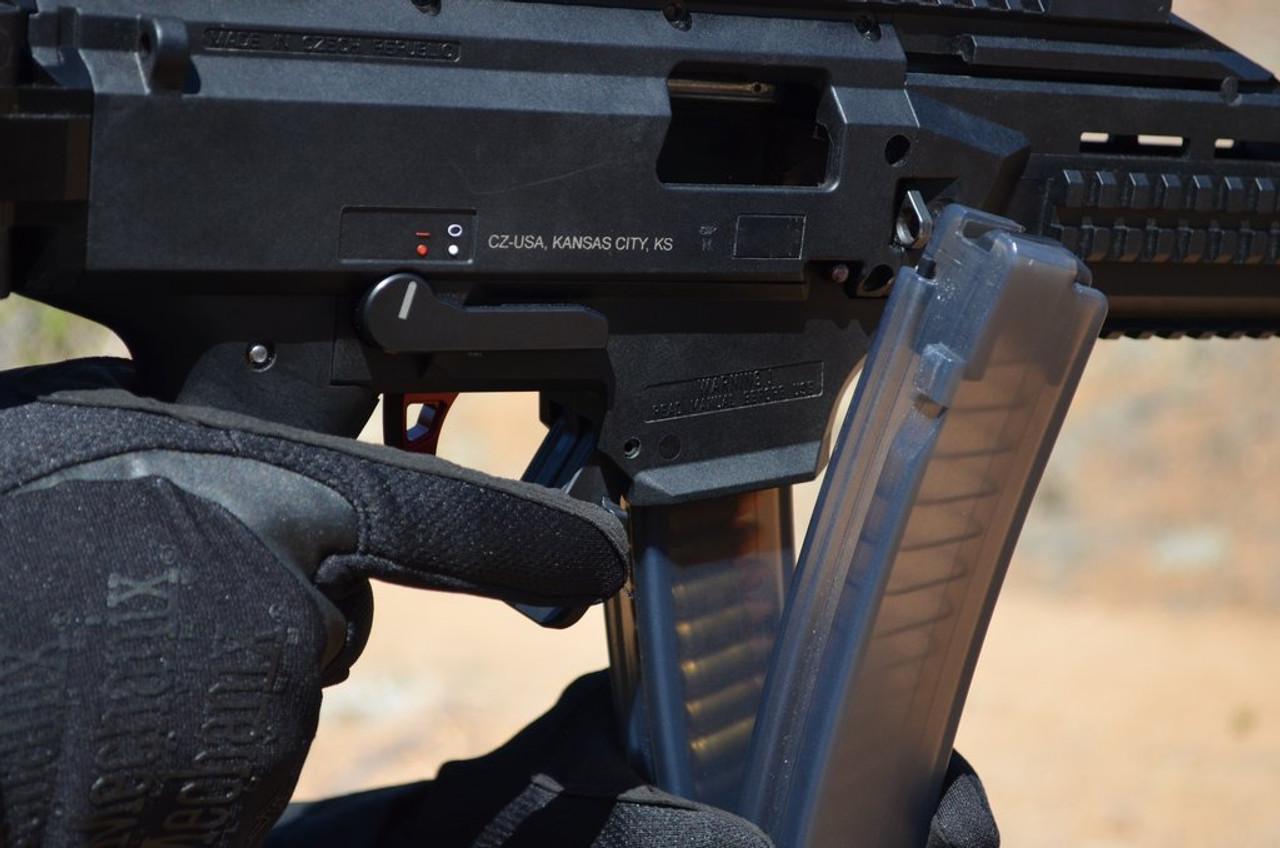 HB Industries CZ Scorpion EVO3 Duckbill Mag Release Lever