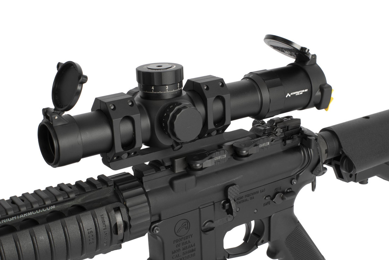 Primary Arms Platinum Series 1-8X24mm FFP Rifle Scope - Illuminated ACSS Raptor M2 5.56 Reticle