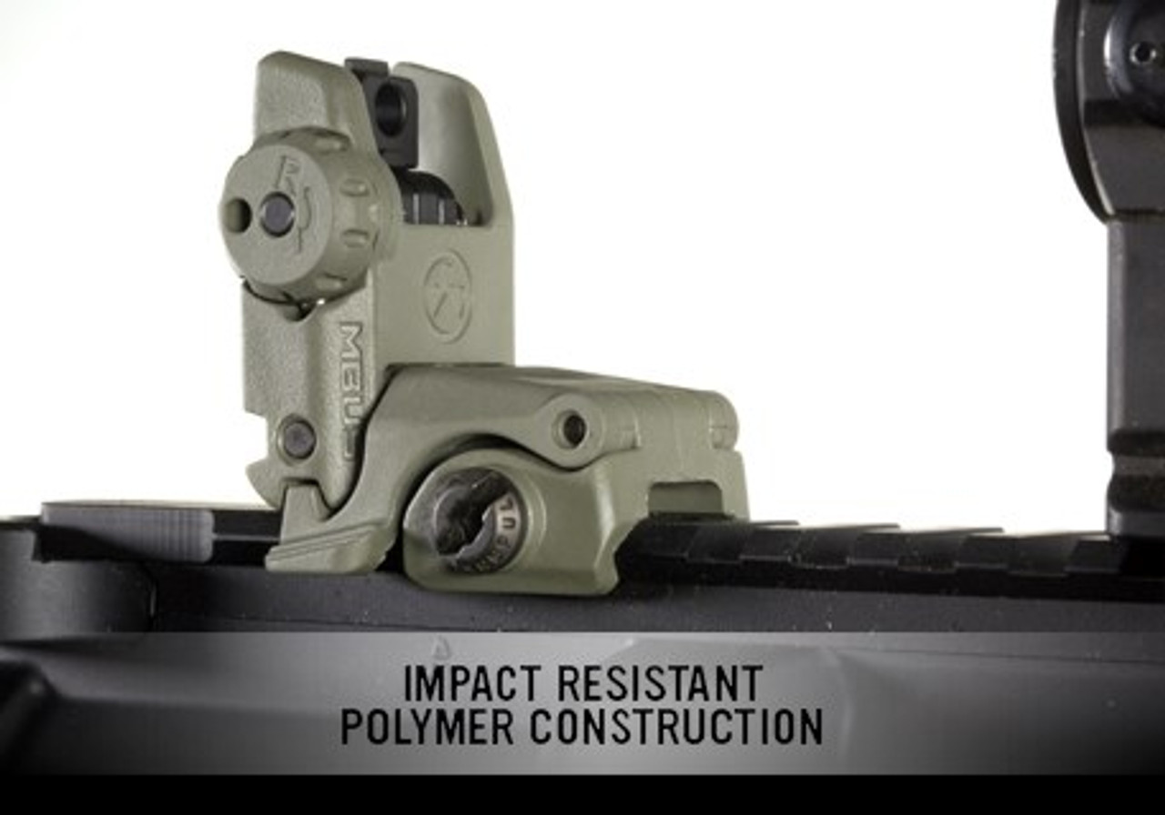Magpul MBUS Back-Up Sight - Rear GEN 2