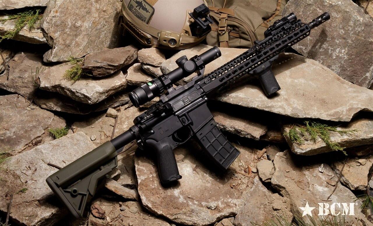 BCM Gunfighter Grip Mod 2 (Modular) - Black