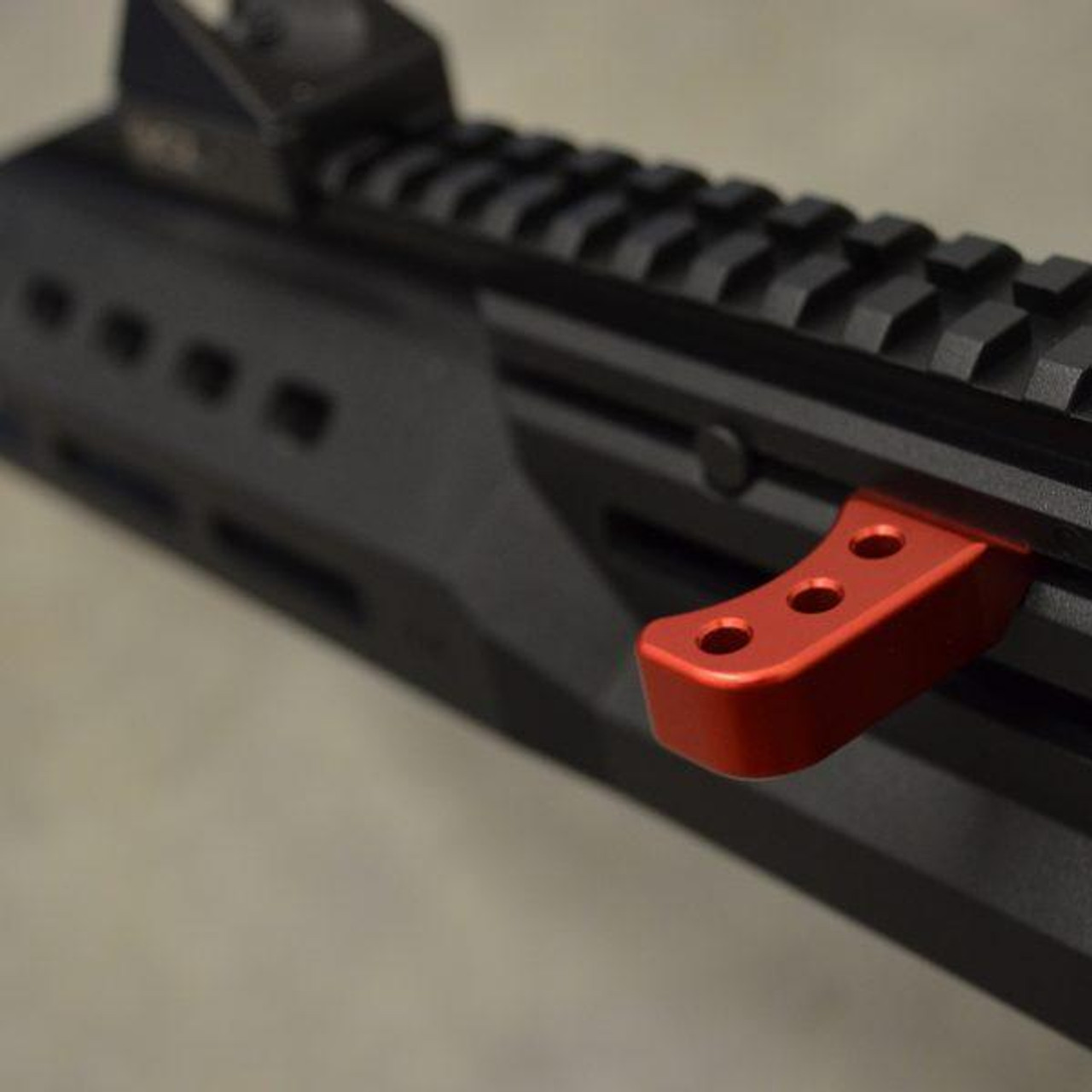 HB Industries CZ Scorpion EVO 3 Theta Extended Charging Handle (Red or Black)