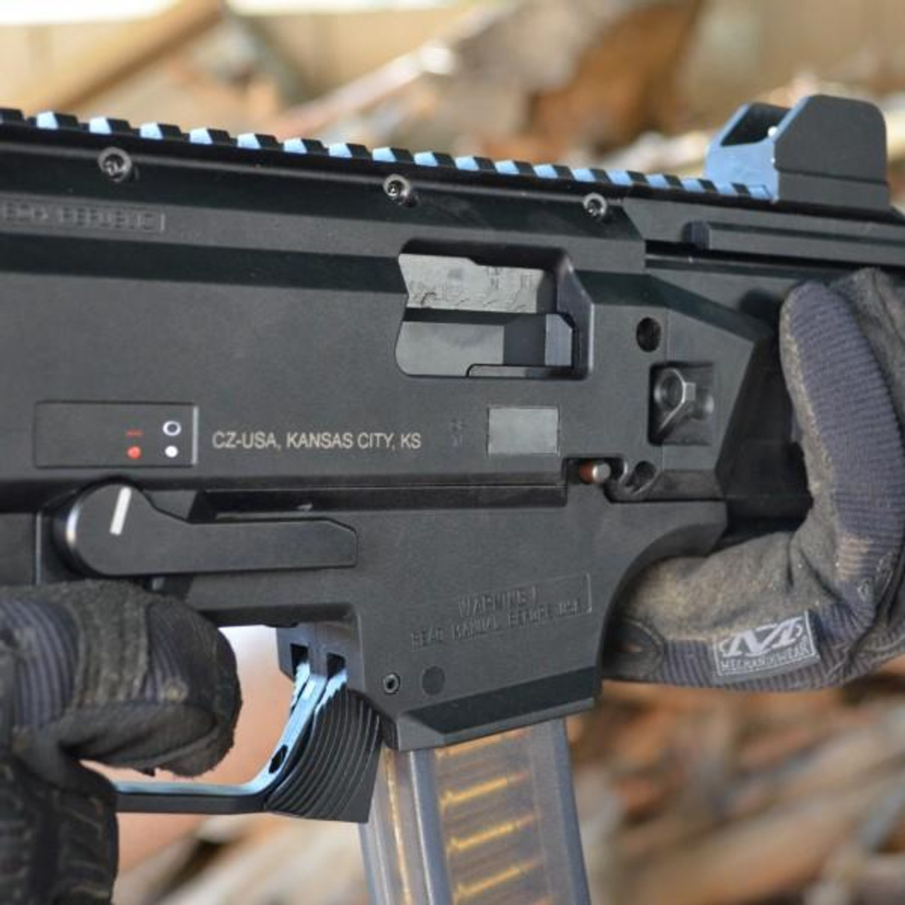 HB Industries CZ Scorpion EVO3 AK Style Safety Selector