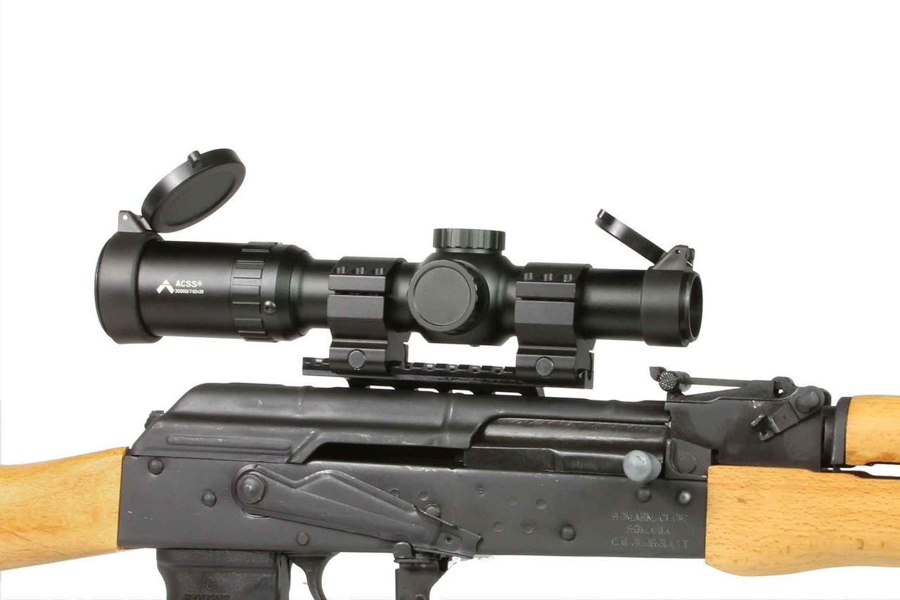 Primary Arms 1-6x Scope with ACSS 7.62x39 Reticle