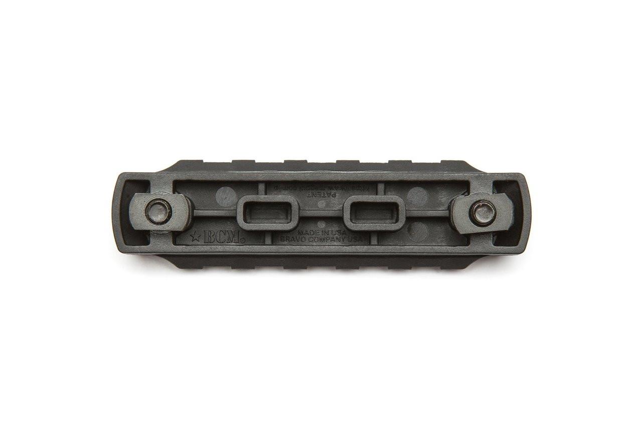 BCM Gunfighter M-LOK Picatinny Nylon Rail Section - Black