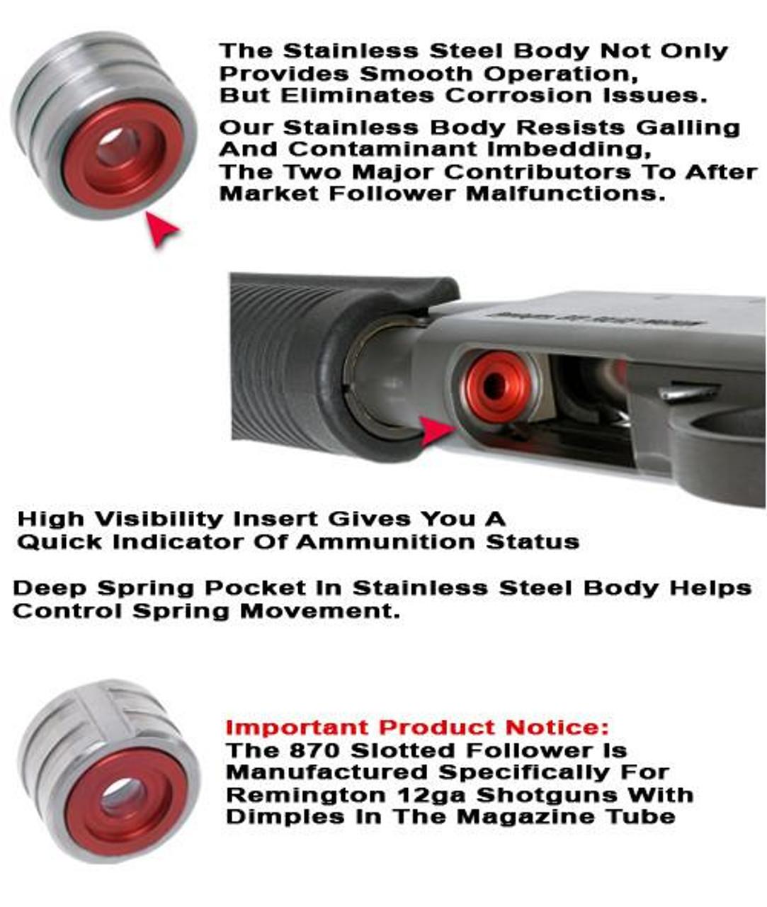 GG&G Remington 870 Follower - Standard