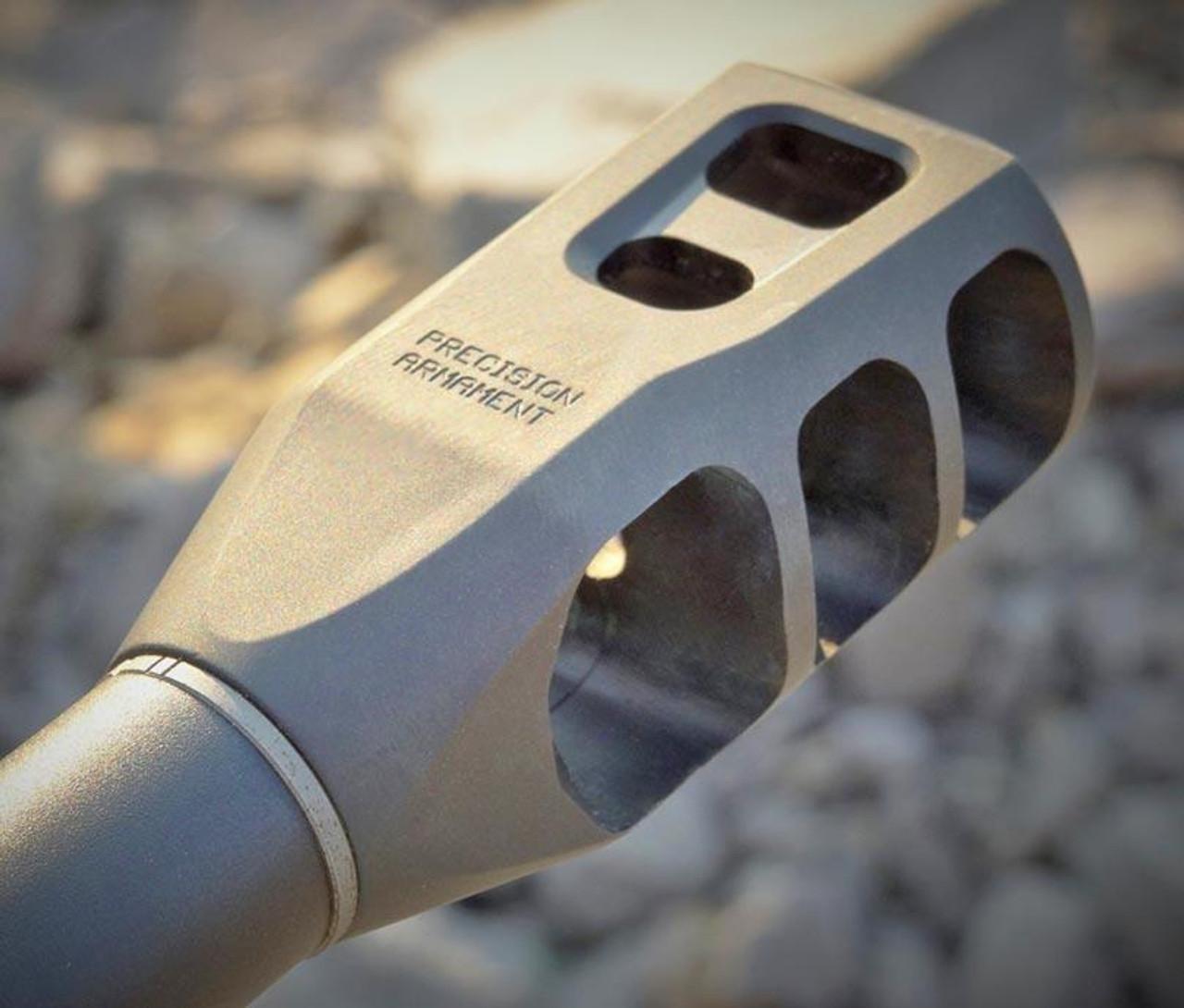Precision Armament - M11 Severe Duty Muzzle Brake 6 5mm ( 264)