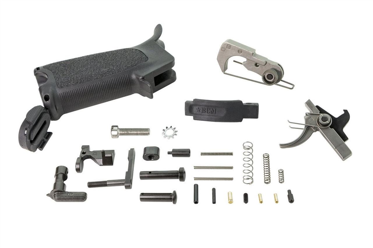 BCM AR15 Enhanced Lower Parts Kit (LPK) - Black